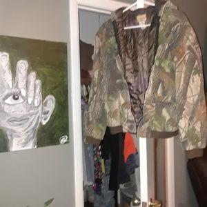 Jackets & Blazers - Real tree camo coat